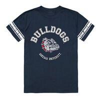 Gonzaga University Bulldogs NCAA Cotton College Football Tee T-Shirt S - 2XL