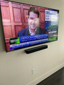 """Samsung QN65Q60TA 65"""" 4K QLED Smart TV - Black MINT!! MINT!!"""