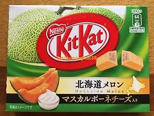 Nestle Kit Kat Chocolate Hokkaido Melon including Mascarpone Cheese 1 bx JAPAN