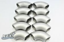 """Klm 1-1/2"""" Schedule 40 90 Degree Elbow 304 Stainless Steel (10) Pack"""