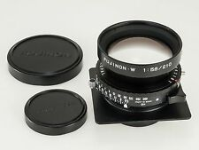 Fujifilm Fujinon W 210 mm f/5.6 in Copal Shutter for Large Format 4x5 Lens