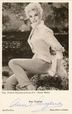 Ann Smyrner Original Signed UFA AK 50er