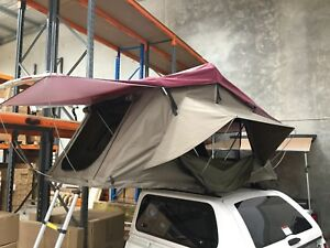 OZ ROOF TOP TENT ROOFTOP TENT CAMPING TENT WITH LADDER 4WD 4X4