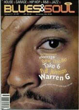 Warren G on Blues & Soul Magazine Cover 1997    The Temptations   Omar Chandler