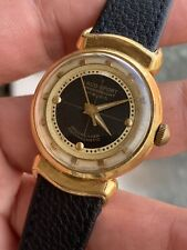 1940s Vintage Laco Sport Mens Watch Gold Plated