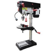 "Craftsman 12"" Bench Drill Press Laser & LED Light 1/2 HP Power Drilling Workshop"