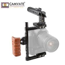 CAMVATE Universal Large DSLR Camera Cage Handle 197mmRod Fr Canon Nikon Sony GH5