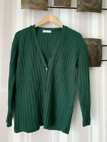 Jade Green winter cardigan Size 14-16. Bnwot.