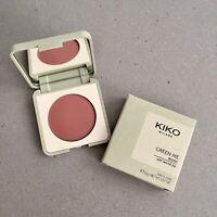 Kiko Milano Green Me Blush - 102 Soft Mauve - Vegan Eco Friendly Face Makeup NEW