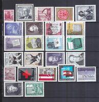 Österreich postfrisch Jahrgang 1965 siehe Bild