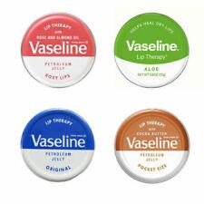 Vaseline Lip Therapy Balm Petroleum Jelly 20g Pocket Size Pots  **5 Flavours**