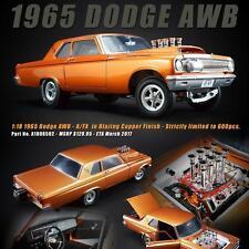 ACME Limited Edition 1/18 scale 1965 Dodge A/FX AWB - Blazing Copper Metallic