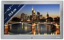Digitaler Bilderrahmen Hama 133SLPFHD Slim Steel 33,8cm (13,3) Full HD