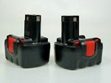 2 x Akku Werkzeugakku Ersatzakku Ni-Cd 14,4V 2000mAh für Bosch O-Pack