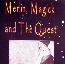 Merlin Magick and The Quest 1st ed 2007 by Gordon Strong occult history