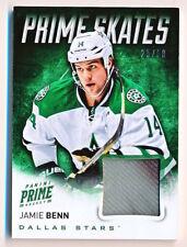 2013-14 Panini Prime Jamie Benn Prime Skates 2 Color Skate Patch (25/50)