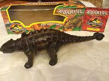 """Dinosaur that Roars while Walking 14"""" Long and 4-1/2"""" High Jurassic Park"""