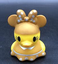 Minnie Mouse Rubber Ducks GOLD Duckz  Disney Rubber Duck