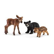 Schleich – Forest Animal Babies * Bear Cub Elk Calf Boar Piglet Toy Figure NEW