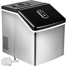 Auto Clear Ice Cube Machine Ice Maker 28.5LB Portable Compact Design Sta.Steel