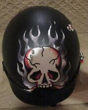 Ed Hardy Shorty Motorcycle Scooter Death or Glory Helmet Nomad Model by KBC