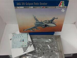 Italeri JAS 39 Gripen Twin Seater Model Kit 1/48