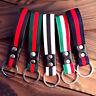 New Men Leather Metal Car Keychain Keyring Purse Bag Key Chain Keyfob Fashion