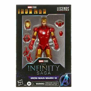Marvel Hasbro Iron Man Marvel Legends Mark 3 Armor 6-inch Action Figure In Stock