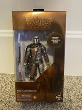 Star Wars Black Series Carbonized Mandalorian 6? Action Figure