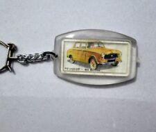 porte cle voiture PEUGEOT 403 BERLINE key chain ancien vintage ring publicitaire