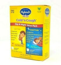 Hylands Cold & Cough- Day & Night Pack- Homeopathic-Natural Children's Medicine