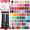 LILYCUTE 160 Colors 7ml Nail Art Soak Off Gel Polish Pedicure UV LED Lamp DIY