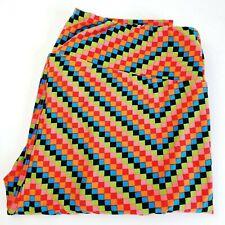 LuLaRoe TC Legging Tall & Curvy Colorful Square Stretch NWOT Friendship Bracelet