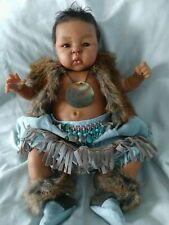 Ethnic Suu-Kyi by Adrie Stoete~OOAK Native American Outfit~Maternal Creations