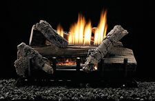 White Mountain Hearth 24-inch Whiskey River Gas Log Set With Vent Free W/ Remote