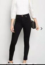 "New look Jenna skinny jeans  black stretch Uk 4 Leg 30"""