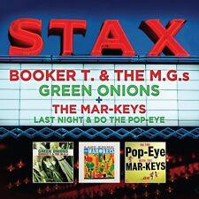 BOOKER T + THE M.G.s GREEN ONIONS / THE MAR-KEYS LAST NIGHT + POP-EYE  NEW 2 CD