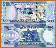 Guyana, 100 dollars, ND (2006), Pick 36, UNC