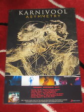 KARNIVOOL - ASYMMETRY  AUS TOUR 2013 -  PROMO COUNTER TOUR POSTER