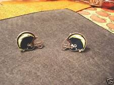 DISCONTINUED SAN DIEGO CHARGERS OLD 1980'S ERA VINTAGE CUFFLINKS