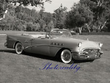 1955 Buick Century Convertible Out in the field 8 x 10  Photograph