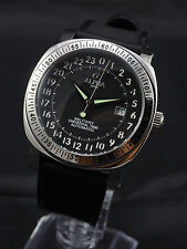 Alpha Military Universal Time automatic watch