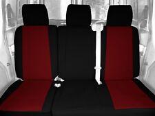 Seat Cover Rear Custom Tailored Seat Covers fits 07-09 Hyundai Santa Fe