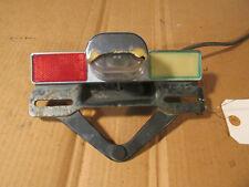 VINTAGE OEM 1985 HONDA SHADOW V1100 LICENSE PLATE BRACKET PARTS RESTORATION