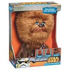 Roar and Rage Chewbacca Disney Star Wars 35cm Talking Moving Plush Figure Toy