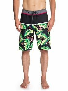 """QUIKSILVER Mens Frond Graphic 21"""" Board Shorts Bathing Suit Size 38 $55 - NWT"""