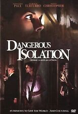 ~ DANGEROUS ISOLATION ~ DVD 2007 WS ALEXANDRA PAUL THRILLER BUY MORE SAVE A LOT