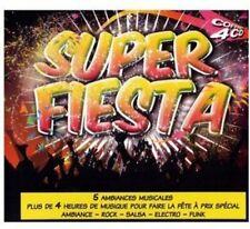 CD NEUF scellé - 4 CD Super Fiesta -C43