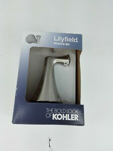 KOHLER R23535-BN Brushed Nickel Wall Mount Robe Hook Towel Hanger Lilyfield