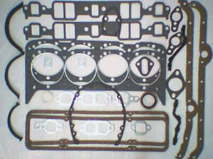 Chevrolet Full Set of Gaskets 350 - 327 - 307 1981-1985 premium set!